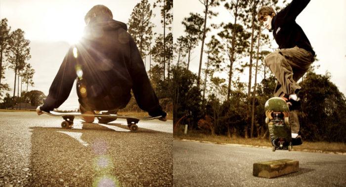 turkey ·skateboards & smores