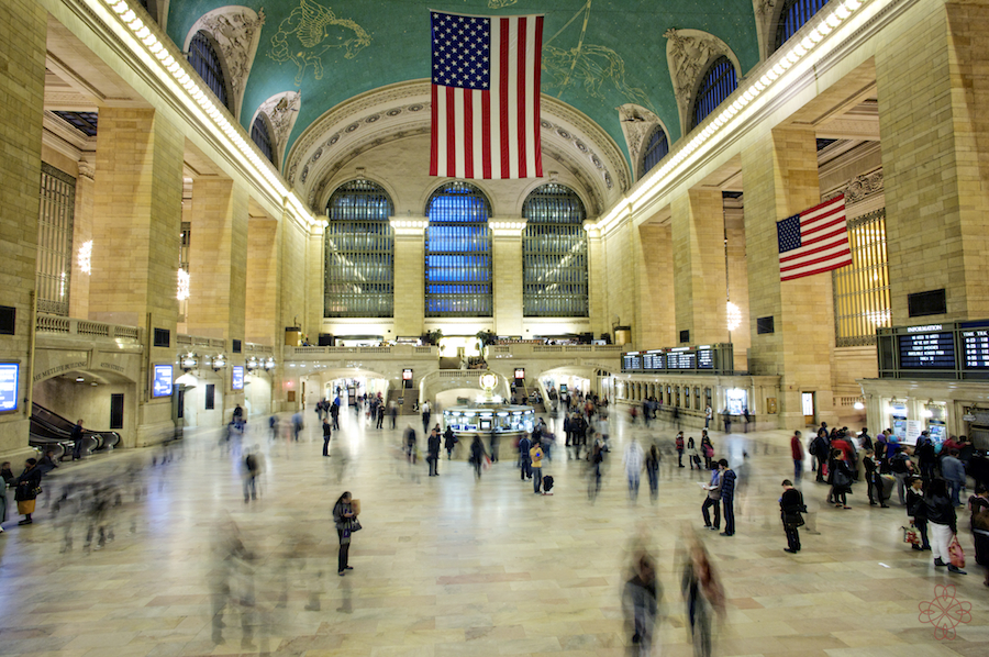 Grand Central Station, NYC - click for snapshots from the trip
