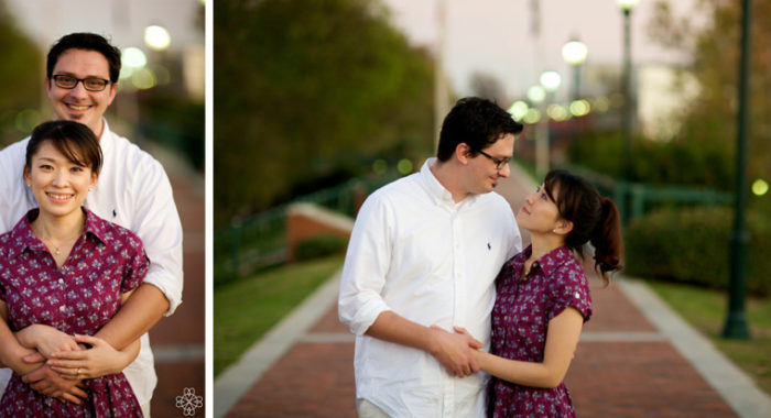 Bubbly Augusta Engagement - Akiko & Geoff