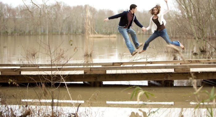 Emily & Jonathan - Engaged in Evans Photoshoot