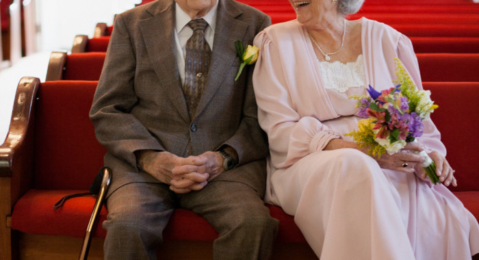 Ruth & Jerry - married at 83