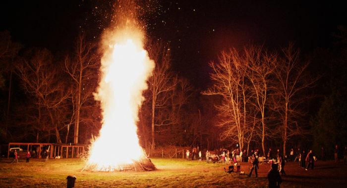 A Really Big Bonfire