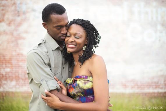 NaMetris & Eric's Augusta Engagement