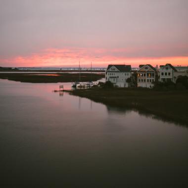 Sunset from Sullivan's Island