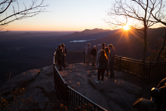 Waterfalls at DuPont State Forest & Sunset at Caesars Head
